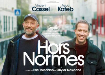 Le Chemin de Pierre à l'avant-première du film Hors Normes
